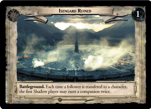 Isengard Ruined (15U192) Card Image
