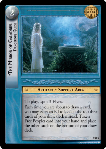 The Mirror of Galadriel, Dangerous Guide (F) (15RF4) Card Image