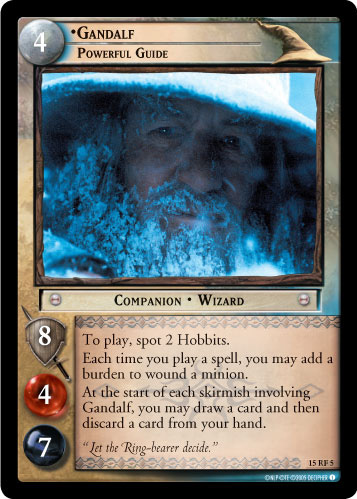 Gandalf, Powerful Guide (F) (15RF5) Card Image