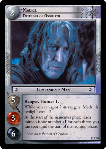 Madril, Defender of Osgiliath (F) (15RF10) Card Image
