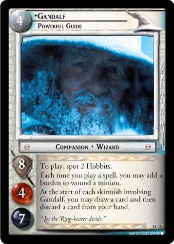Gandalf, Powerful Guide (O) (15O2) Card Image