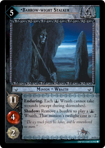 Barrow-wight Stalker (16R1) Card Image