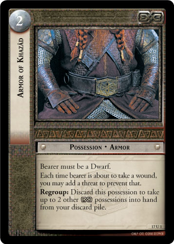 Armor of Khazad (17U1) Card Image