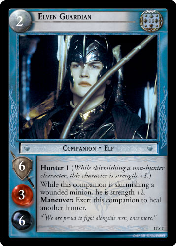 Elven Guardian (17S7) Card Image