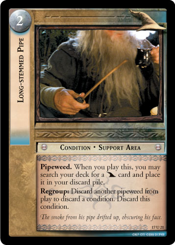 Long-stemmed Pipe (17U21) Card Image
