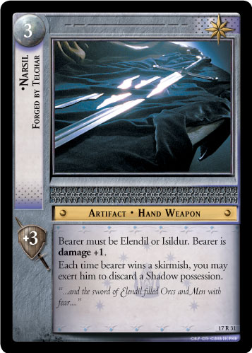 Narsil, Forged by Telchar (17R31) Card Image
