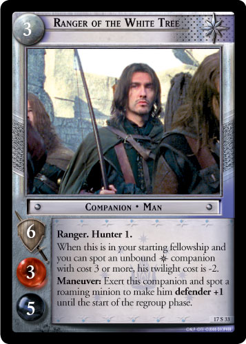 Ranger of the White Tree (17S33) Card Image
