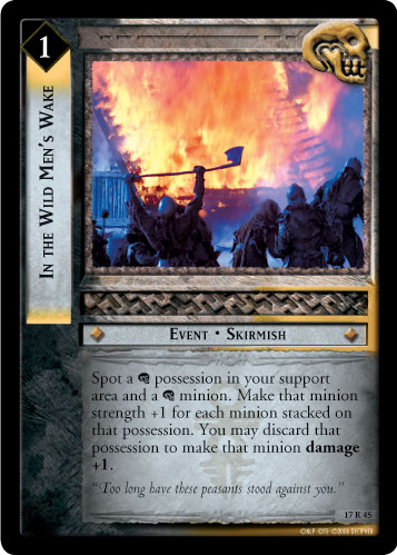 In the Wild Men's Wake (17R45) Card Image