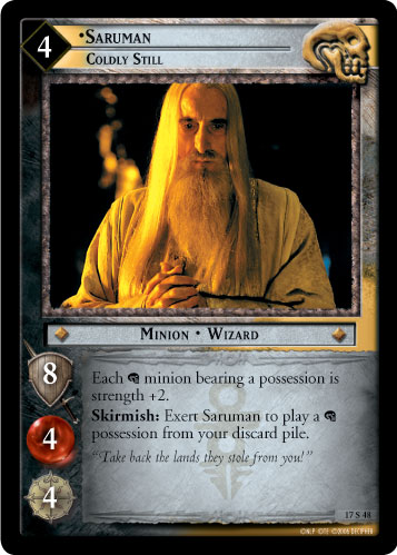 Saruman, Coldly Still (17S48) Card Image