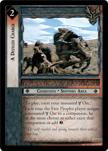 A Defiled Charge (17R67) Card Image