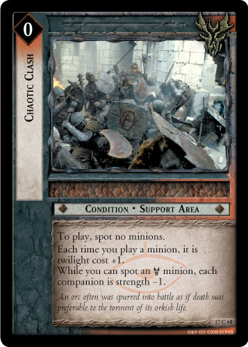 Chaotic Clash (17C68) Card Image