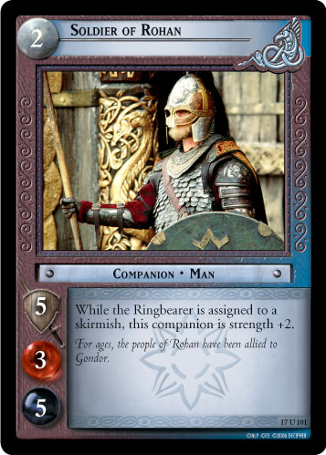 Soldier of Rohan (17U101) Card Image