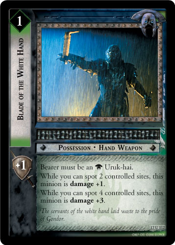 Blade of the White Hand (17U112) Card Image
