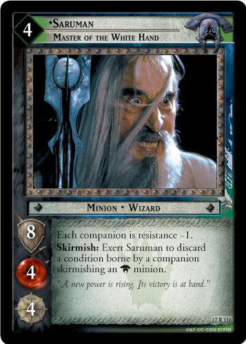 Saruman, Master of the White Hand (17R116) Card Image