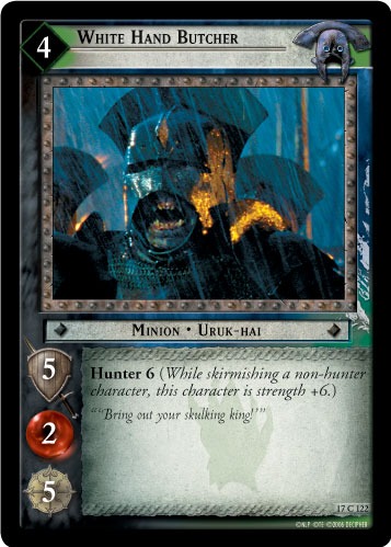 White Hand Butcher (17C122) Card Image
