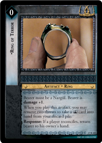 Ring of Terror (17R143) Card Image