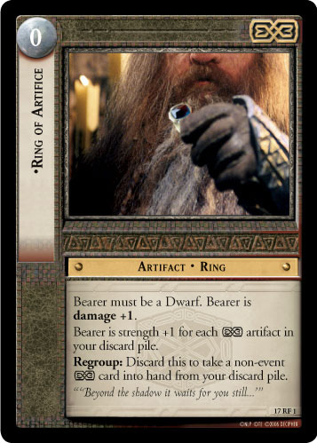 Ring of Artifice (F) (17RF1) Card Image