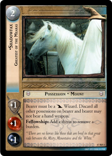 Shadowfax, Greatest of the Mearas (F) (17RF3) Card Image