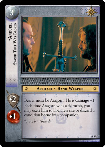 Anduril Broken