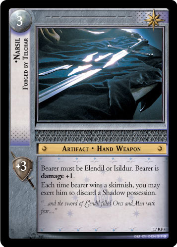 Narsil, Forged by Telchar (F) (17RF7) Card Image