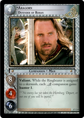 Aragorn, Defender of Rohan (O) (17O4) Card Image