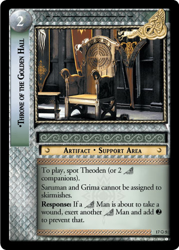 Throne of the Golden Hall (O) (17O5) Card Image