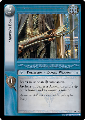 Arwen's Bow (18R4) Card Image