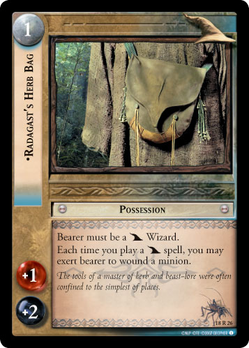 Radagast's Herb Bag (18R26) Card Image