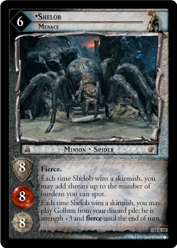 Shelob, Menace (18R34) Card Image