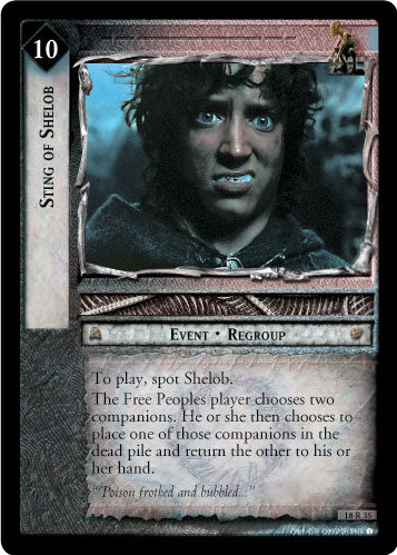 Sting of Shelob (18R35) Card Image