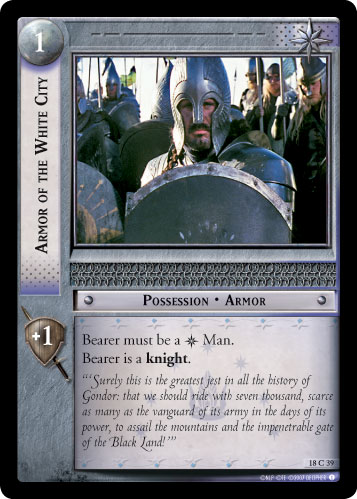 Armor of the White City (18C39) Card Image