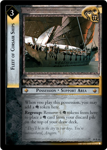 Fleet of Corsair Ships (18R66) Card Image