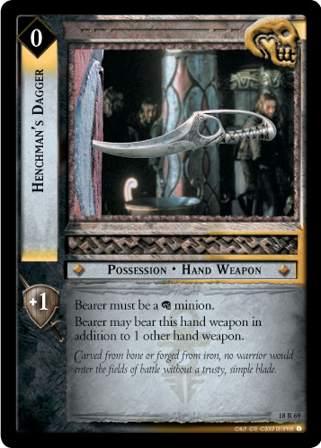 Henchman's Dagger (18R69) Card Image