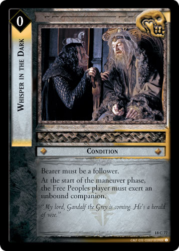 Whisper in the Dark (18C77) Card Image