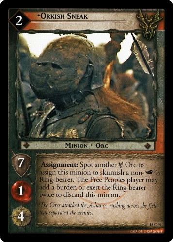 Orkish Sneak (18C91) Card Image