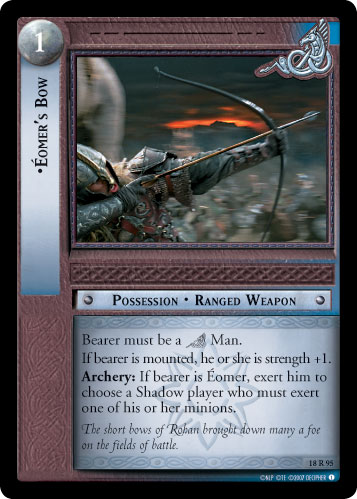 Eomer's Bow (18R95) Card Image