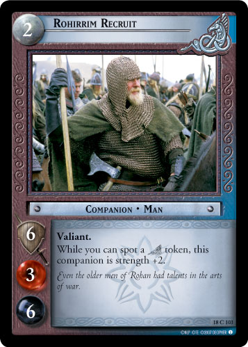 Rohirrim Recruit (18C103) Card Image