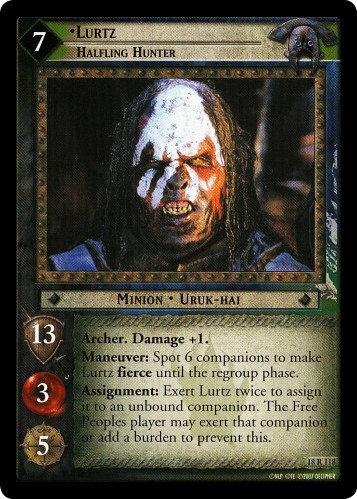 Lurtz, Halfling Hunter (18R118) Card Image