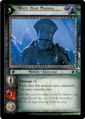 White Hand Marshal (18R127) Card Image