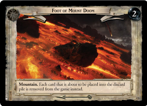 Foot of Mount Doom (18U135) Card Image