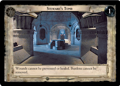 Steward's Tomb (18U139) Card Image