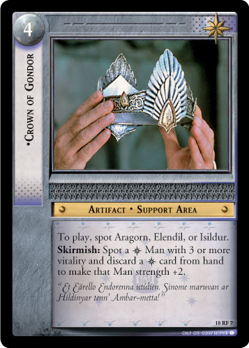 Crown of Gondor (F) (18RF7) Card Image