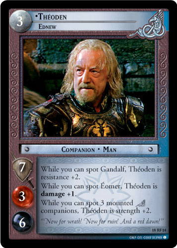 Theoden, Ednew (F) (18RF14) Card Image