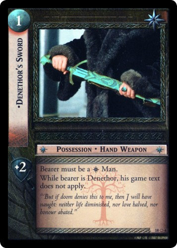 Denethor's Sword (O) (18O4) Card Image