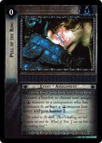 Pull of the Ring (O) (18O9) Card Image