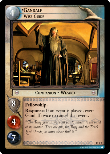 Gandalf, Wise Guide (19P8) Card Image
