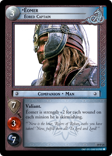 Eomer, Eored Captain (19P25) Card Image