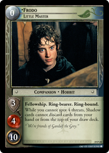 Frodo, Little Master (19P28) Card Image