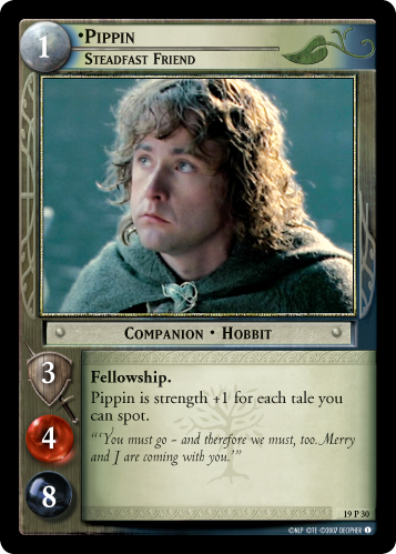 Pippin, Steadfast Friend (19P30) Card Image