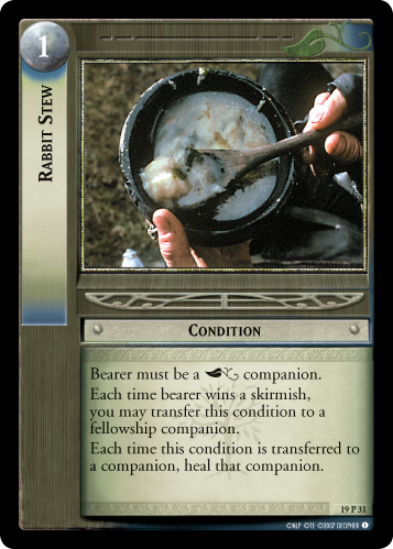 Rabbit Stew (19P31) Card Image